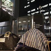 "The Umbrella Movement and tent camps were cleared off the streets shortly before Christmas by police but a small number of tents have been allowed to remain outside the Govenment offices. <br /> <br /> Hong Kong (香港; ""Fragrant Harbour""), officially known as Hong Kong Special Administrative Region of the People's Republic of China since the hand-over from the United Kingdom in 1997 under the principle of ""one country, two systsems"".  7 million people live on 1,104km square, making it the most vertivcal city in the world. Hong Kong is one of the world's leading financial centres along side London and New York, it has one of the highest income per capita in the world as well the moste severe income inequality amongst advanced economies. The Hong Kong civil society is highly regulated but has at the same time one of the most lassiez-faire economies with low taxation and free trade. Civil unrest and political dissent is unusual but in 2014 the Umbrella Movenment took to the streets of Hong Kong demanding democracy and universal suffrage. 93 % are ethnic Chinese, mostly Cantonese speaking."