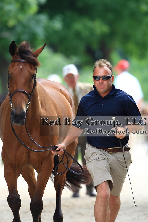 Buck Davidson and Ballynoecastle RM at the 2009 Maui Jim Horse Trials in Wayne, Illinois.