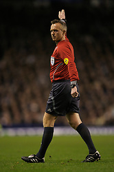 Liverpool, England - Wednesday, December 5, 2007: Referee Kristinn Jakobsson takes charge of Everton versus Zenit St. Petersburg during the UEFA Cup Group A match at Goodison Park. (Photo by David Rawcliffe/Propaganda)