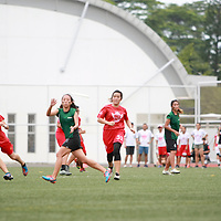 NYP (red) defeated RP 9-3 in this game. NYP finished as champions with a 5-0 win-loss record while RP amassed a 3-2 record. RP qualified for IVP by finishing third. (Photo © Les Tan/Red Sports)