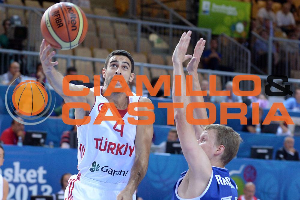 DESCRIZIONE : Capodistria Koper Slovenia Eurobasket Men 2013 Preliminary Round Turchia Finlandia Turkey Finland<br /> GIOCATORE : Dogus Balbay<br /> CATEGORIA : Tiro<br /> SQUADRA : Turchia<br /> EVENTO : Eurobasket Men 2013<br /> GARA : Turchia Finlandia Turkey Finland<br /> DATA : 04/09/2013 <br /> SPORT : Pallacanestro&nbsp;<br /> AUTORE : Agenzia Ciamillo-Castoria/Max.Ceretti<br /> Galleria : Eurobasket Men 2013 <br /> Fotonotizia : Capodistria Koper Slovenia Eurobasket Men 2013 Preliminary Round Turchia Finlandia Turkey Finland<br /> Predefinita :
