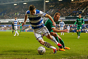 Queens Park Rangers midfielder Marc Pugh (7) during the The FA Cup match between Queens Park Rangers and Sheffield Wednesday at the Kiyan Prince Foundation Stadium, London, England on 24 January 2020.