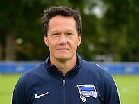 German Soccer Bundesliga 2015/16 - Photocall of Hertha BSC Berlin on 10 July 2015 in Berlin, Germany: Henrik Kuchno