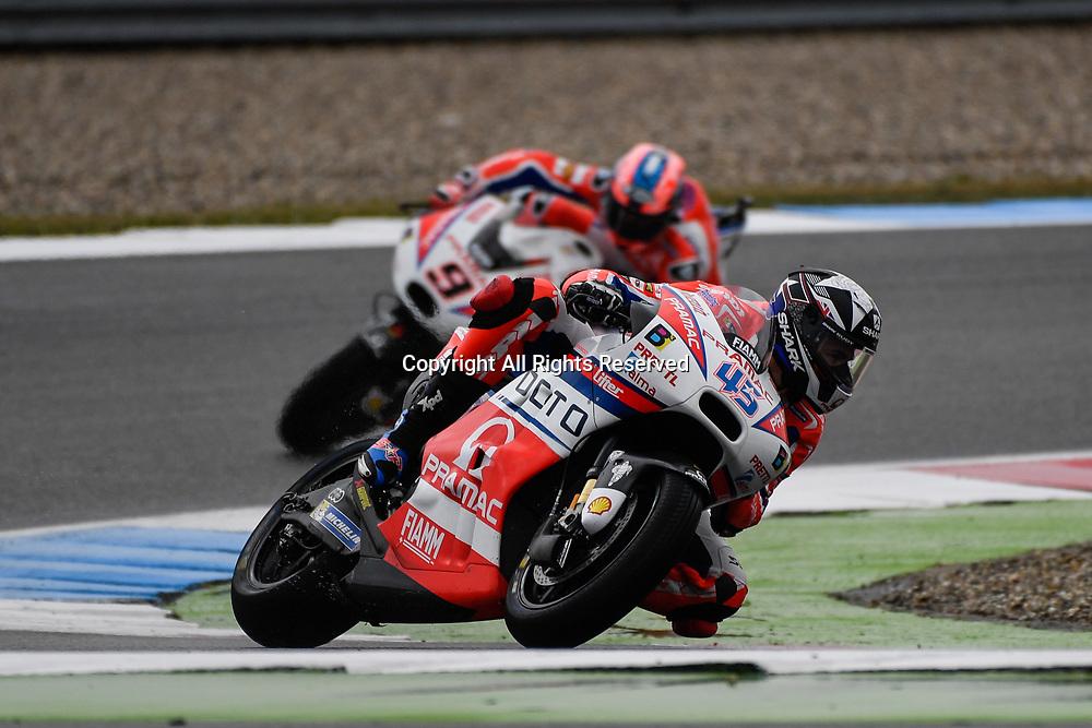 June 24th 2017, TT Circuit, Assen, Netherlands; MotoGP Grand Prix TT Assen, Qualifying Day; Scott Redding (Pramac)during the qualifying sessions