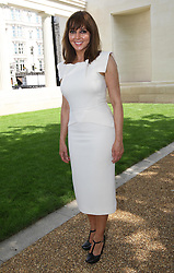 Carol Vorderman at the unveiling of the Bomber Command Memorial in London, Thursday 28th  June 2012 Photo by: Stephen Lock / i-Images