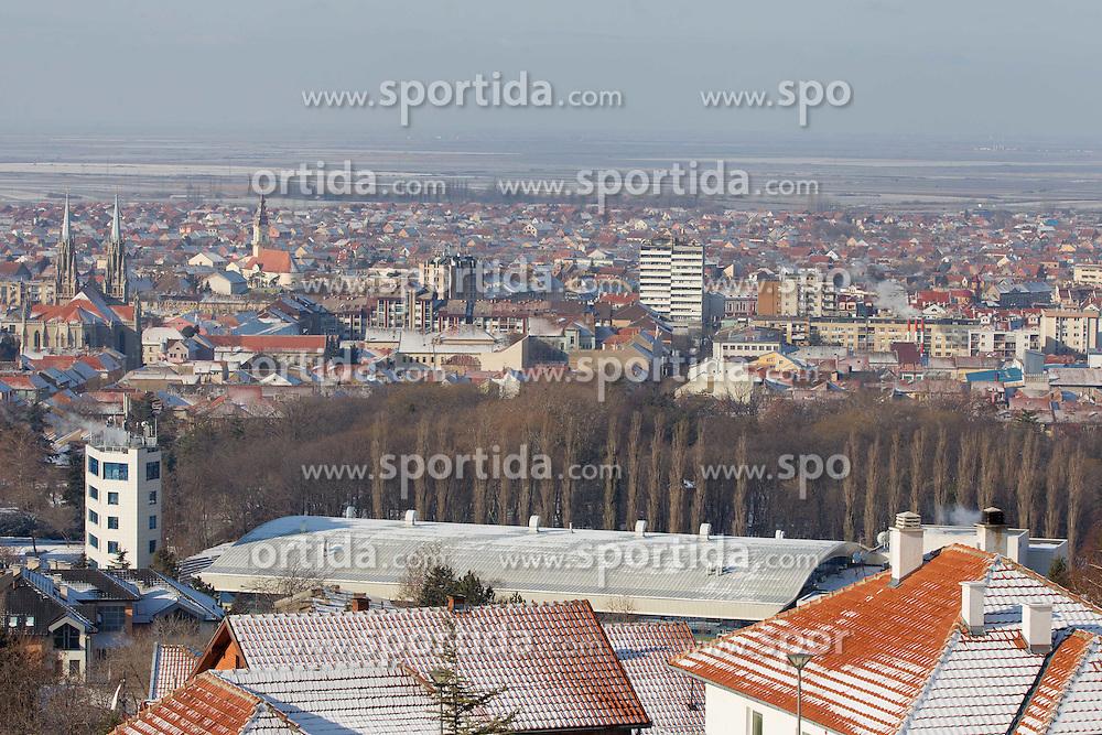 Vrsac, host city of 10th EHF European Handball Championship Serbia 2012, on January 16, 2012 Vrsac, Serbia. (Photo By Vid Ponikvar / Sportida.com)