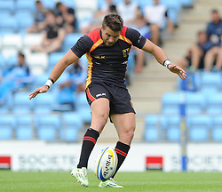 Fabian Heimpel of Germany - Photo mandatory by-line: Dougie Allward/JMP - Mobile: 07966 386802 - 11/07/2015 - SPORT - Rugby - Exeter - Sandy Park - European Grand Prix 7s
