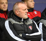 Neil Redfearn Manager of Rotherham United during the Sky Bet Championship match at the New York Stadium, Rotherham<br /> Picture by Richard Land/Focus Images Ltd +44 7713 507003<br /> 28/11/2015