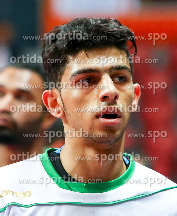 20.01.2015, Duhail Handball Sports Hall, Doha, QAT, IHF, Handball Weltmeisterschaft der Herren, Gruppe C, Argentinien vs Saudi-Arabien, im Bild Mojtaba Alsalem (KSA) // during the IHF Handball World Championship group C match between Argentina and Saudi Arabia at the Duhail Handball Sports Hall, Doha, Qatar on 2015/01/20. EXPA Pictures © 2015, PhotoCredit: EXPA/ Sebastian Pucher