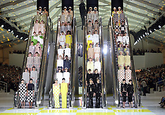 OCT 03 2012 Louis Vuitton show in Paris for S/S 2013