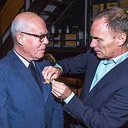 NLD/Amsterdam/20130921 - Uitreiking Awards, Hans van Manen uitgereikt door Ted Brandsen