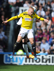 Jake Bidwell Brentford, Derby County v Brentford, Sy Bet Championship, IPro Stadium, Saturday 11th April 2015. Score 1-1,  (Bent 92) (Pritchard 28)<br /> Att 30,050