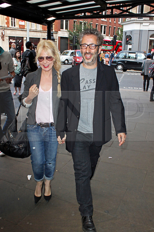 © Licensed to London News Pictures. 01/07/2013. London, UK. Morwenna Banks & David Baddiel at the Derren Brown Infamous - Gala Night. Photo credit: Brett D. Cove/LNP