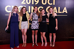 Team TIBCO - Silicon Valley Bank at UCI Cycling Gala 2019 in Guilin, China on October 22, 2019. Photo by Sean Robinson/velofocus.com