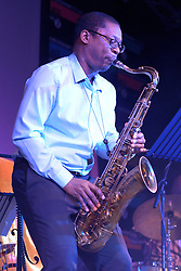 Cheltenham Jazz Festival, Cheltenham, United Kingdom, Ravi Coltrane, performs in the Jazz Arena at Cheltenham Music Festival, Saturday 04 May, 2013, Photo by: Rosalind Butt / i-Images