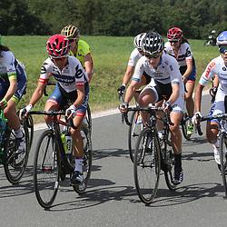 19-07-2016: Wielrennen: Thueringen Rundfahrt vrouwen: Greiz<br />GREIZ (DLD) WIELRENNEN  <br />Op een van de beklimmingen. Annemiek van Vleuten, Ashleigh Moolman, Emma Johansson, Carla Ryan