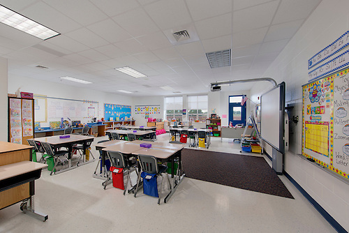 Superb Architectural Interior Of Cardinal Ridge Elementary School In Loudoun  County VA By Jeffrey Sauers Of Commercial.