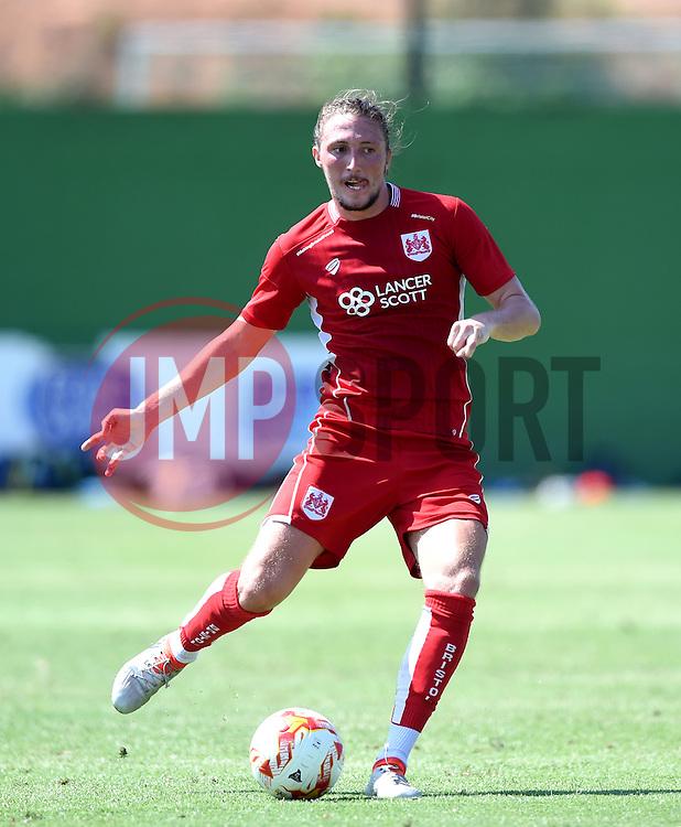 Luke Ayling of Bristol City  - Mandatory by-line: Joe Meredith/JMP - 22/07/2016 - FOOTBALL - La Manga Training Ground - La Manga, Murcia - UCAM v Bristol City - Pre-season friendly