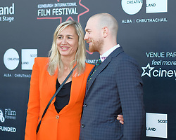 Edinburgh International Film Festival, Saturday, 23rd June 2018<br /> <br /> 'TWO FOR JOY' World Premiere<br /> <br /> Pictured:  Director Tom Beard and Producer Emma Comley<br /> <br /> (c) Alex Todd | Edinburgh Elite media