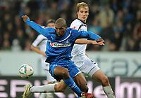 Fotball<br /> Tyskland<br /> 05.11.2011<br /> Foto: Witters/Digitalsport<br /> NORWAY ONLY<br /> <br /> v.l. Ryan Babel, Martin Amedick (Kaiserslautern)<br /> Bundesliga, TSG 1899 Hoffenheim - 1. FC Kaiserslautern