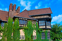 Cecilienhof Palace (site of the Potsdam conference between Truman, Churchill and Stalin from 16 July to 2 August 1945, at the end of World War II), Potsdam, Germany