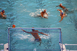 July 24, 2018 - Barcelona, Spain - match between Italy and Russia, corresponding to the women group stage of the European Water Polo Championship, on 19th July, 2018, in Barcelona, Spain. (Credit Image: © Joan Valls/NurPhoto via ZUMA Press)