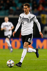 November 16, 2018 - Leipzig, Germany - Leon Goretzka of Germany in action during the international friendly match between Germany and Russia on November 15, 2018 at Red Bull Arena in Leipzig, Germany. (Credit Image: © Mike Kireev/NurPhoto via ZUMA Press)