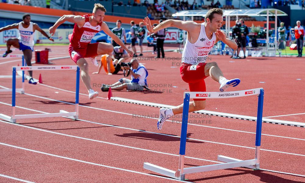06-07-2016 NED: European Athletics Championships, Amsterdam<br /> Jakub Smolinski POL