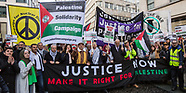 4 Nov 2017 - Thousands march in central London for Palestinian justice.