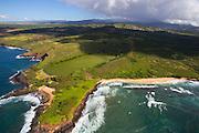 Mahaulepu Heritage Trail, Poipu, Kauai, Hawaii