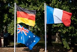 Behind the scenes, , Flags, 2013 IPC Athletics World Championships, Lyon, France