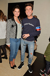 PIXIE GELDOF and NICK GRIMSHAW at the Louis Vuitton for Unicef Event #MAKEAPROMISE held at The Apartment, 17-20 New Bond Street, London on 14th January 2016.