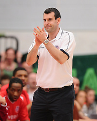 Bristol Flyers head coach, Andreas Kapoulas  - Photo mandatory by-line: Joe Meredith/JMP - Mobile: 07966 386802 - 11/04/2015 - SPORT - Basketball - Bristol - SGS Wise Campus - Bristol Flyers v Glasgow Rocks - British Basketball League