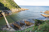 Storms River Swing Bridge, Garden Route National Park, Eastern Cape, South Africa