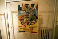 Roma  24 Aprile 2012.La mostra 'Impressioni di guerra' al Museo Storico della Liberazione di via Tasso