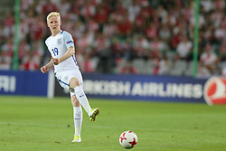 June 22, 2017 - Kielce, Poland - Will Hughes (ENG), during the UEFA European Under-21 Championship Group A match between England and Poland at Kielce Stadium on June 22, 2017 in Kielce, Poland. (Credit Image: © Foto Olimpik/NurPhoto via ZUMA Press)
