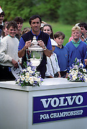 Seve Ballesteros 1991 Volvo PGA Championship Wentworth <br /> Picture Credit:  Mark Newcombe / www.visionsingolf.com