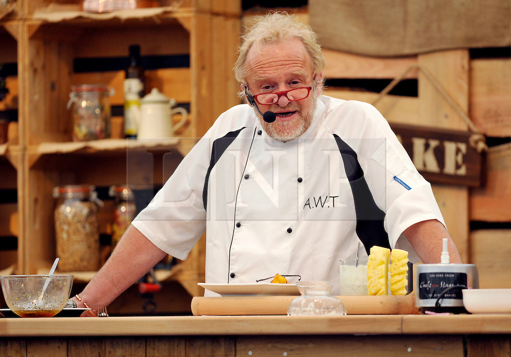 © Licensed to London News Pictures. 10/05/2014; Bristol, UK.  Antony Worrall-Thompson does a live demonstration of cooking lamb at the Bristol Food Connections festival in the Harbourside area of the city.<br /> Photo credit: Simon Chapman/LNP