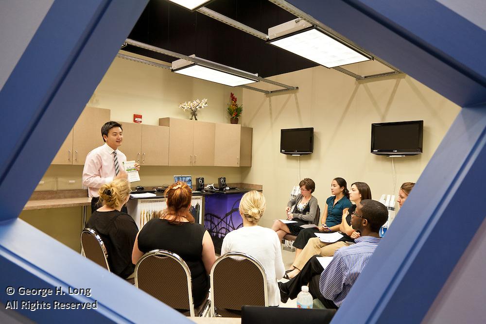 Leading Educators Twilight training at Junior Achievement; Delgado University