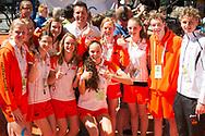 EYOF 2013: Pieter vd Hoogenband met Nederlandse zwemploeg