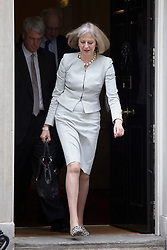 © licensed to London News Pictures. London, UK 26/06/2013. Theresa May, Secretary of State for the Home Department attending cabinet meeting in Downing Street on Wednesday, 26 June 2013. Photo credit: Tolga Akmen/LNP