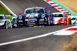 Dino Zamparelli finishes 3rd in Race 1 | GT Marques | #88 Porsche 911 GT3 Cup | Porsche Carrera Cup GB | Race 1 - Rogan Thomson/JMP - 02/10/2016 - MOTORSPORT - Brands Hatch GP Circuit - Longfield, England - BTCC Season Finale.