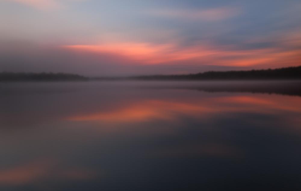 Foggy Dawn, Mountain Island Lake