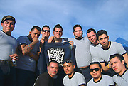 The Rumble Cats gang. Viva Las Vegas weekend. 2005