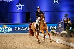 KOSCHEL Christoph (GER), Ballentines<br /> München - Munich Indoors 2019<br /> Meggle Grand Prix Kür (CDI4*)<br /> 23. November 2019<br /> © www.sportfotos-lafrentz.de/Stefan Lafrentz