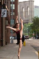 Dumbo Sidewalk Ballerina featuring Alexa Maetta.