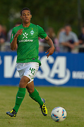 06.07.2011, An der Mühle, Norderney, GER, Werder Bremen vs SV Meppen,  Friendly Match  1. FBL  im Bild  Aljoscha Hyde (Bremen #45) // durind the friendly Match between Werder Bremen vs SV Meppen, at the trainingscamp on the Mihle 2011/07/04  EXPA Pictures © 2011, PhotoCredit: EXPA/ nph/  Kokenge       ****** out of GER / CRO  / BEL ******