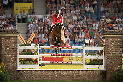 Estermann Paul, (SUI), Castlefield Eclipse<br /> Individual competition round 3 and Final Team<br /> FEI European Championships - Aachen 2015<br /> © Hippo Foto - Jon Stroud<br /> 21/08/15