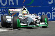 DURBAN, South Africa, Team Mexico's David Garza (17th 1:20:246) during the third practice session held as part of the A1GP race weekend in Durban, South Africa on Saturday 23 February 2008.  Photo: SportsPics/SPORTZPICS