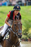 Karin Donckers, (BEL), Fletcha van t Verahof - Eventing Cross Country test - Alltech FEI World Equestrian Games™ 2014 - Normandy, France.<br /> © Hippo Foto Team - Leanjo de Koster<br /> 30/08/14